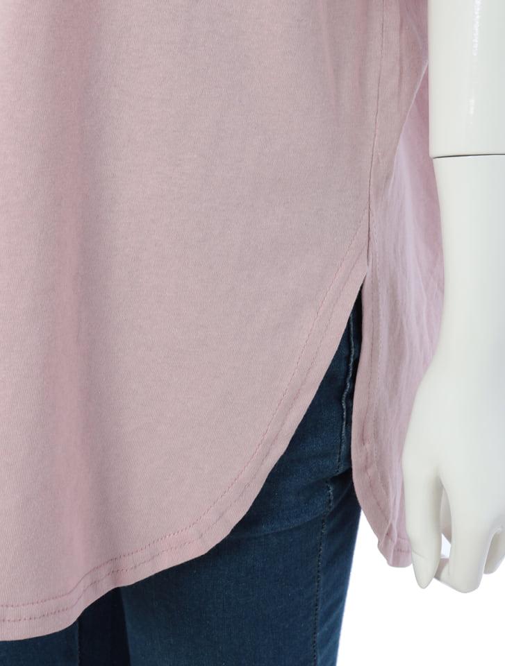 サイドスリットオーバーサイズTシャツ