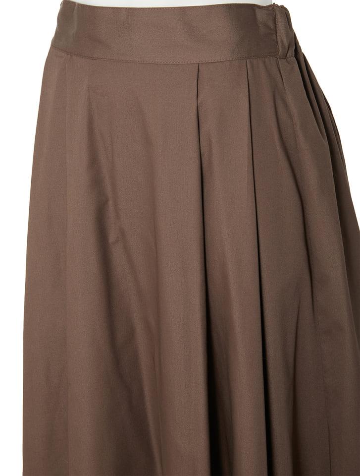 Aラインロングフレアスカート