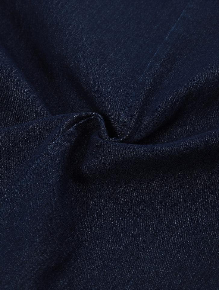 バックスリットデニムスカート