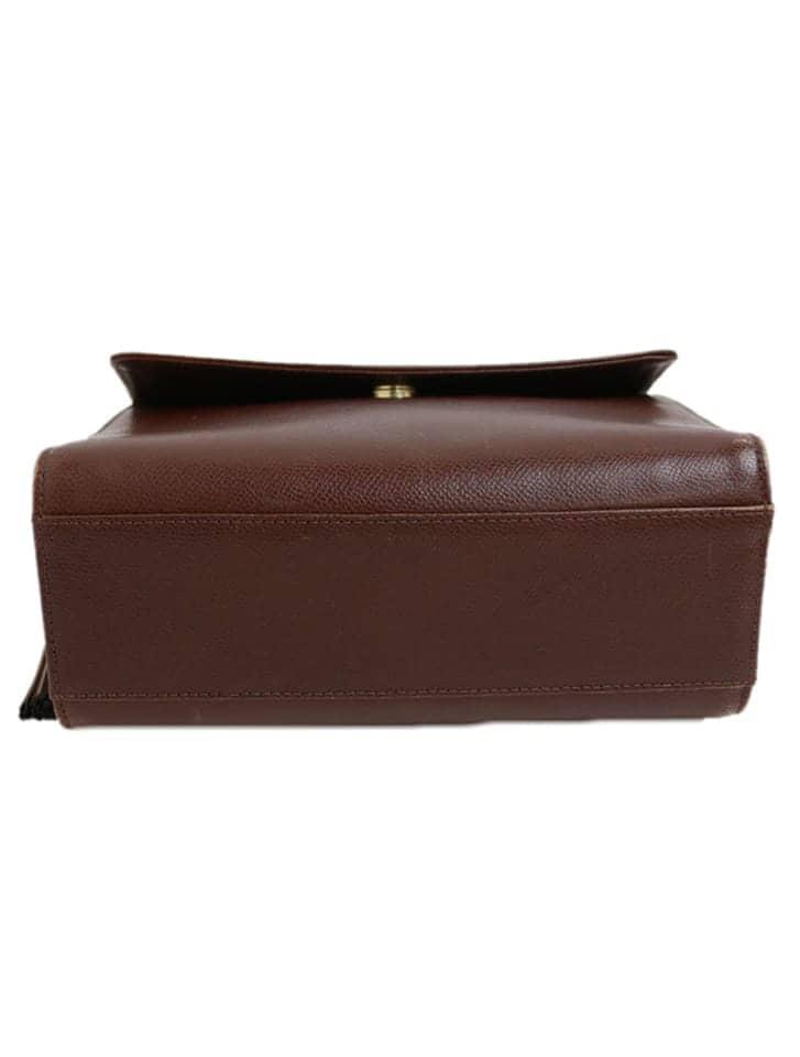 【Valentino】タッセル型押しレザーショルダーバッグ