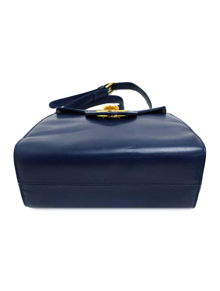 【GIVENCHY】ロゴ金具レザーショルダーバッグ