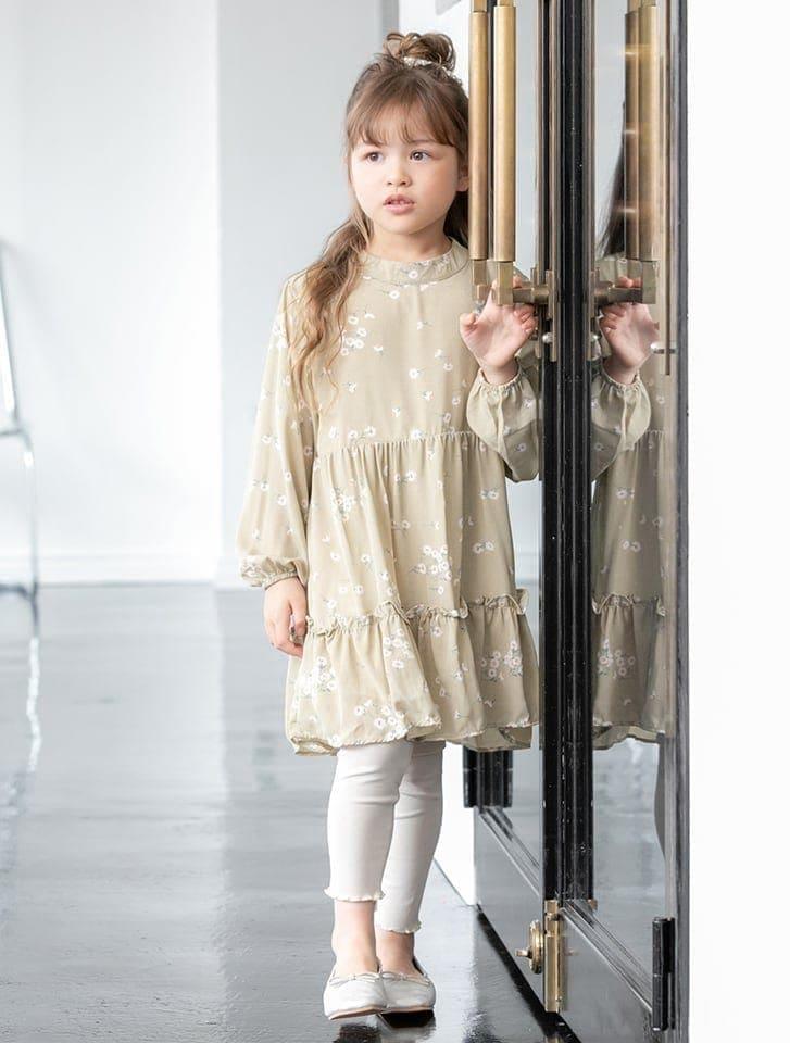 【KIDS】裾メロウレギンス
