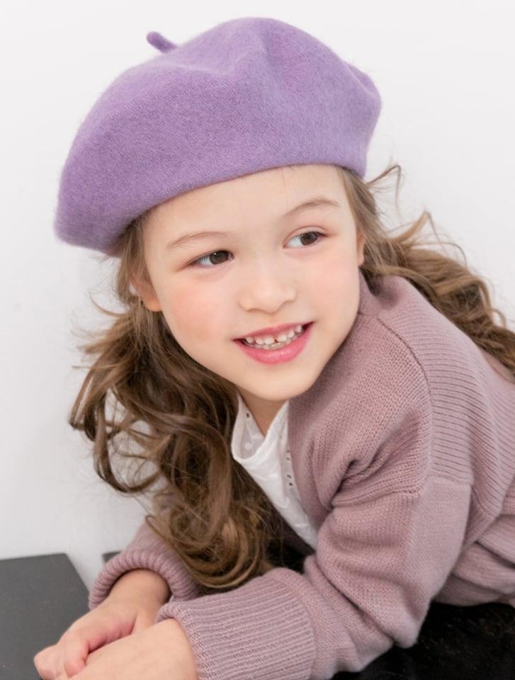 【KIDS】ウールベレー帽