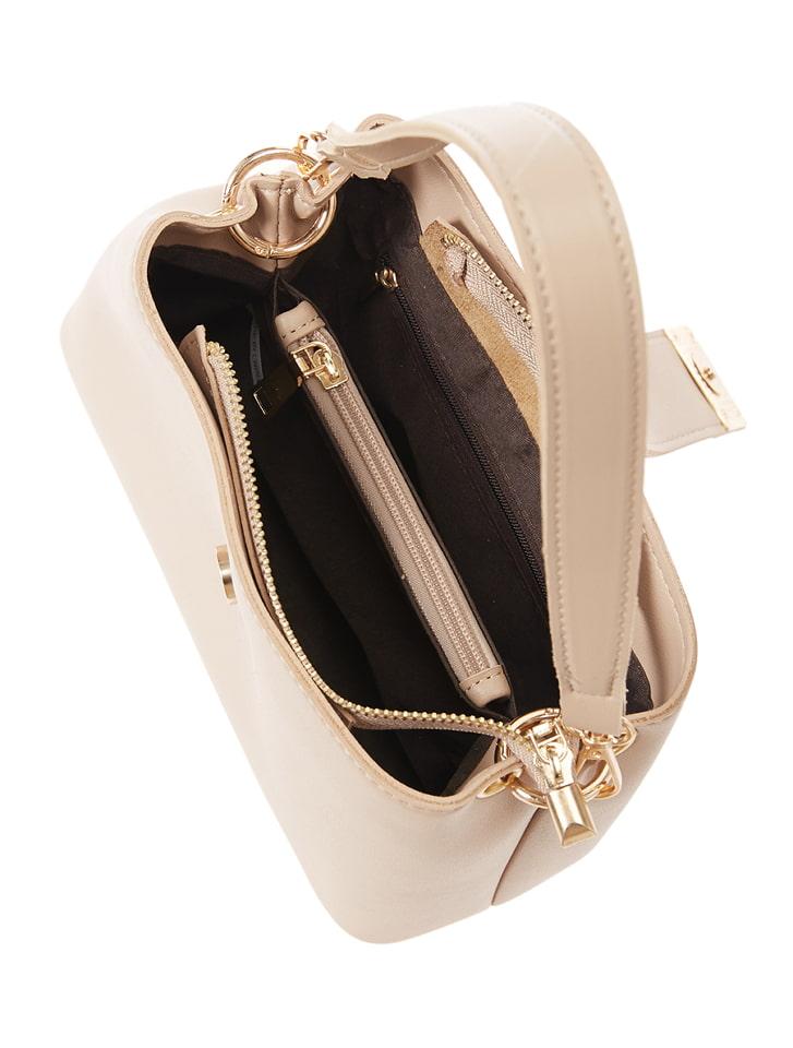 ゴールドスクエアプレートハンドバッグ