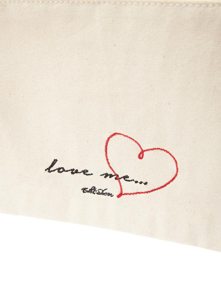 love me...シリーズ フラットポーチ3点セット