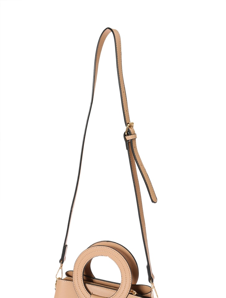 【High-Line】スクエアリングハンドルバッグ