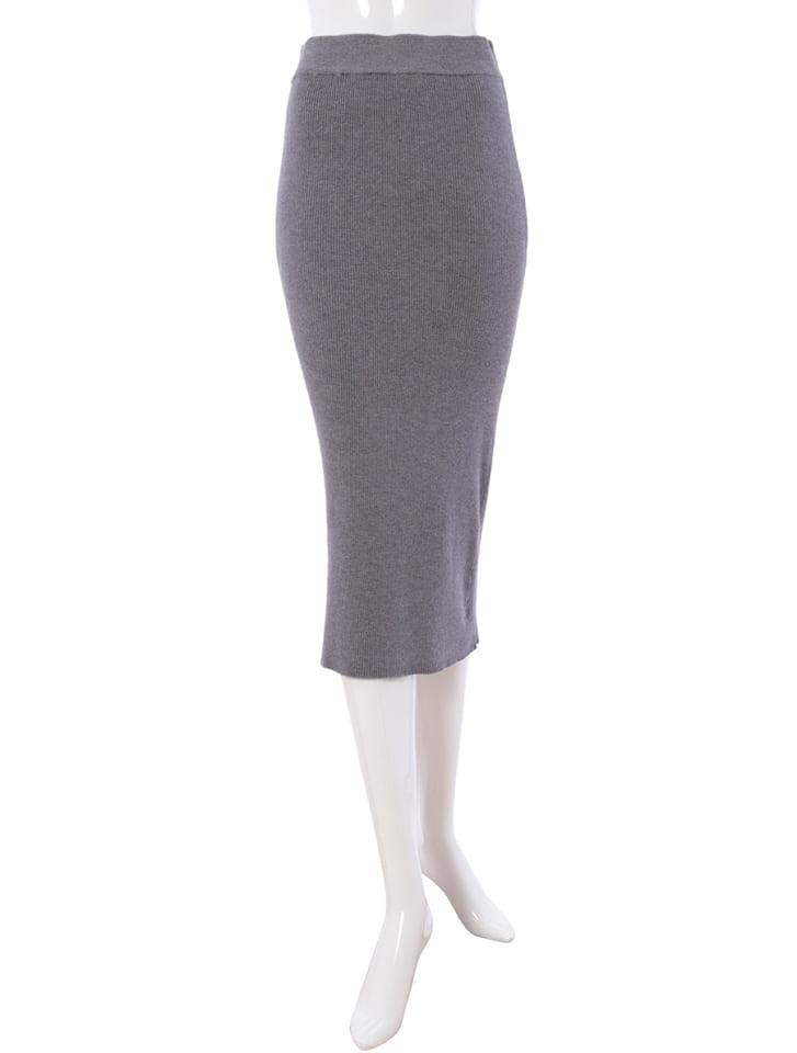 リブニットタイトスカート