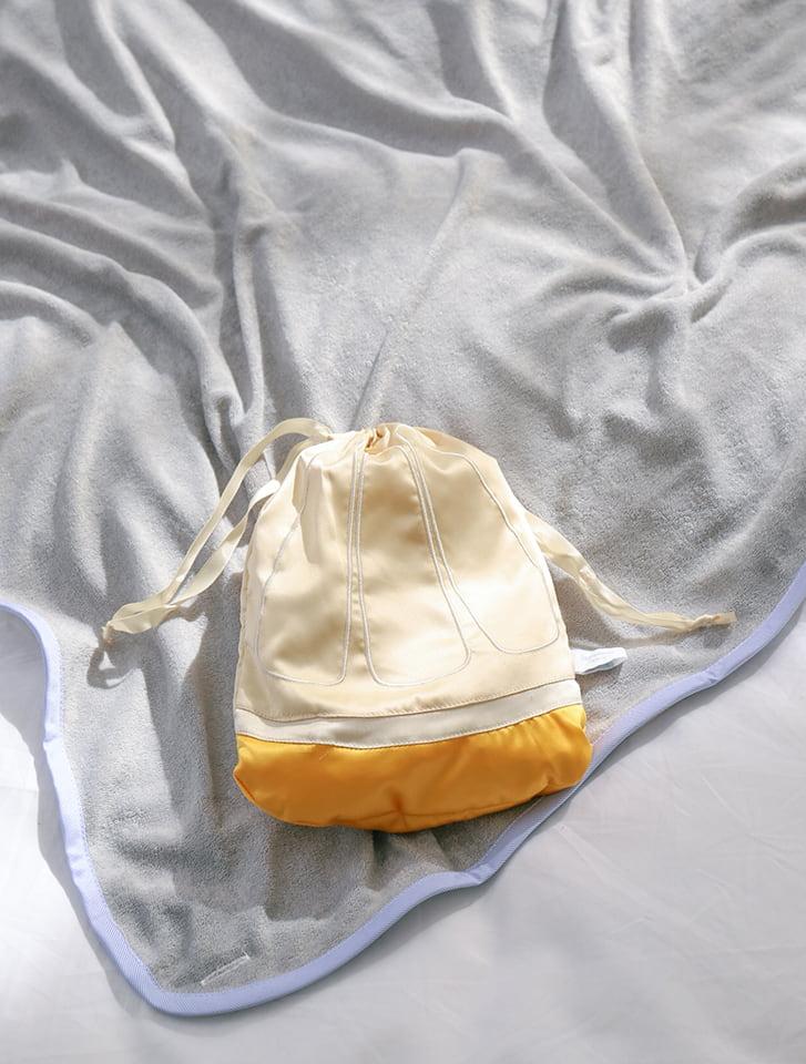 クールタッチフルーツ巾着3wayブランケット