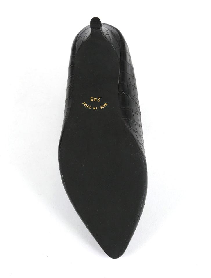 ポインテッドトゥ7cmキレイめパンプス