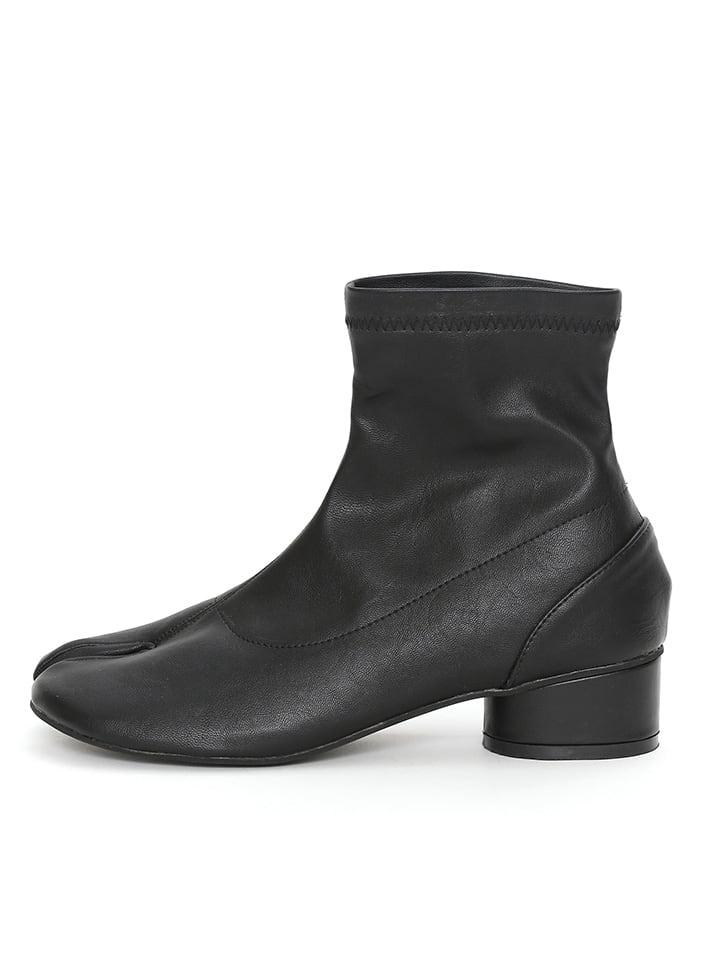 足袋デザインストレッチショートブーツ
