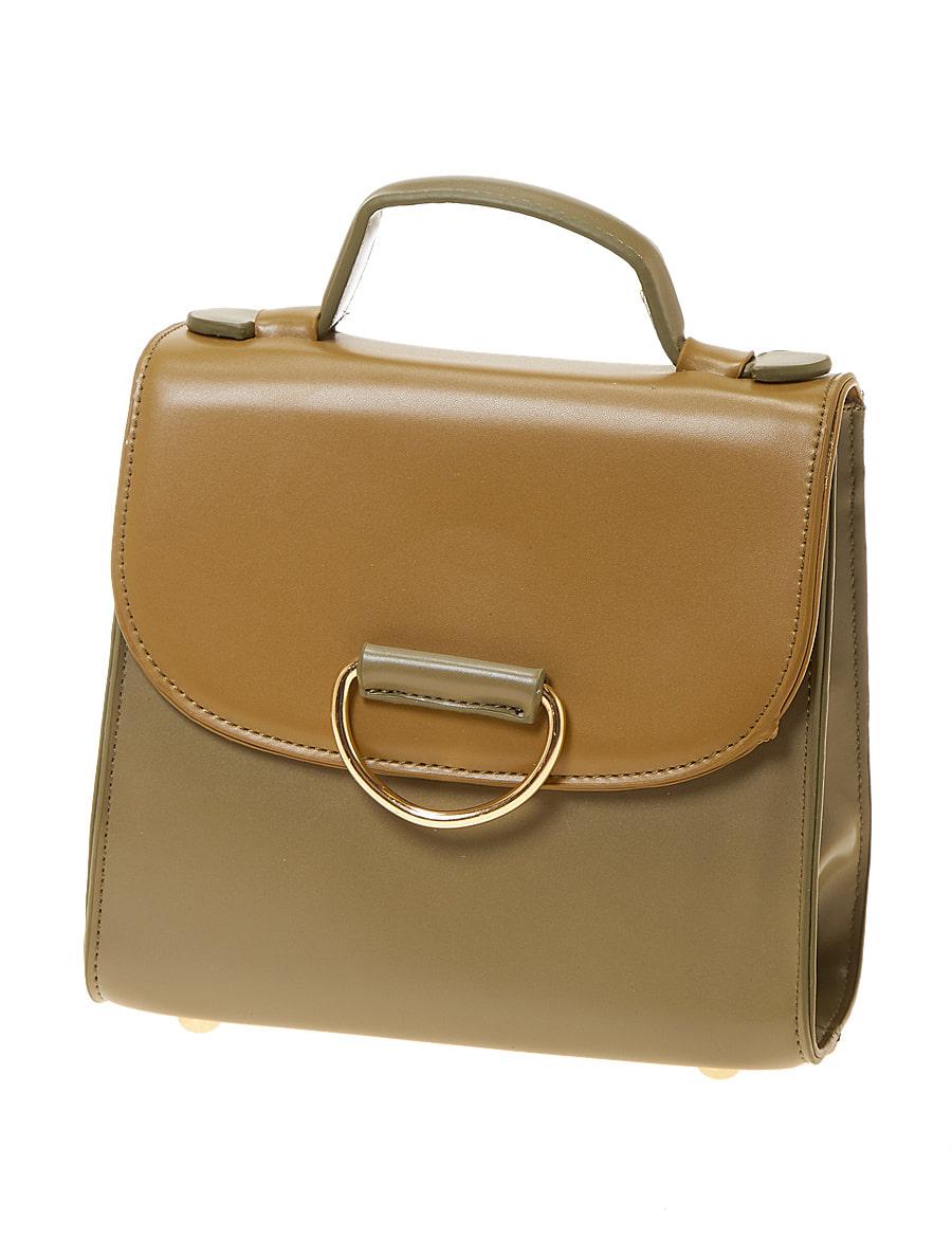 配色デザイン2wayハンドバッグ